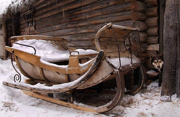 Vintage sleds and sleighs omero home for Vintage sleds