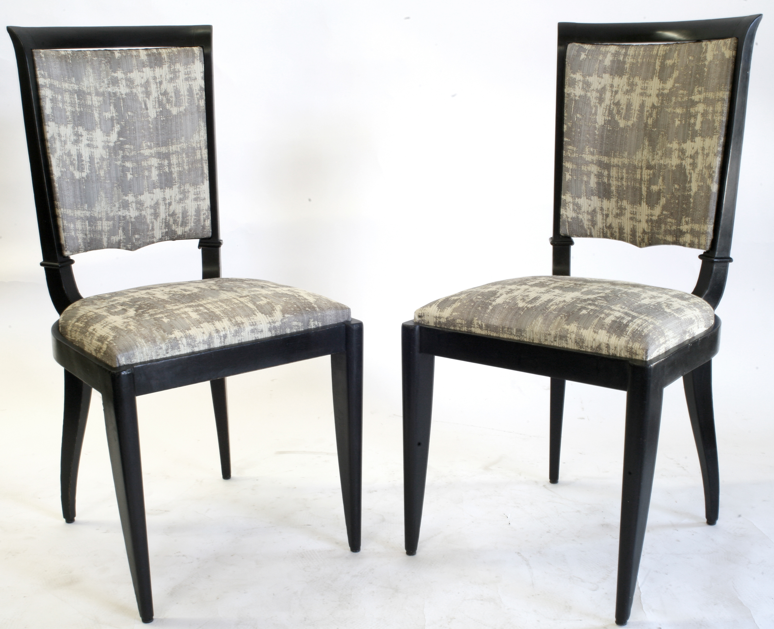 1930039s french art deco leleu dining chairs art deco dining furniture