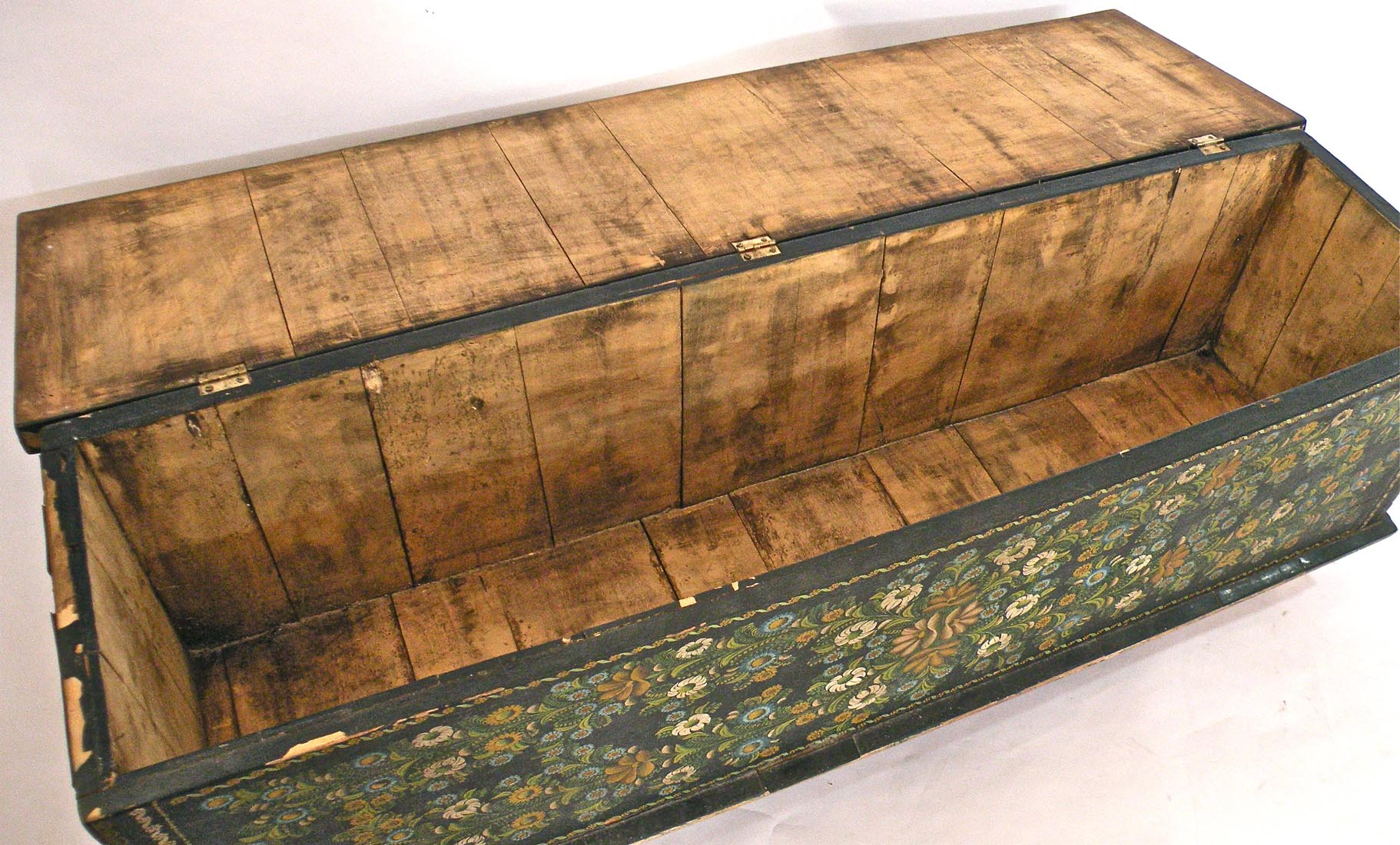 1930s Olinala Chest or Coffee Table Mexico