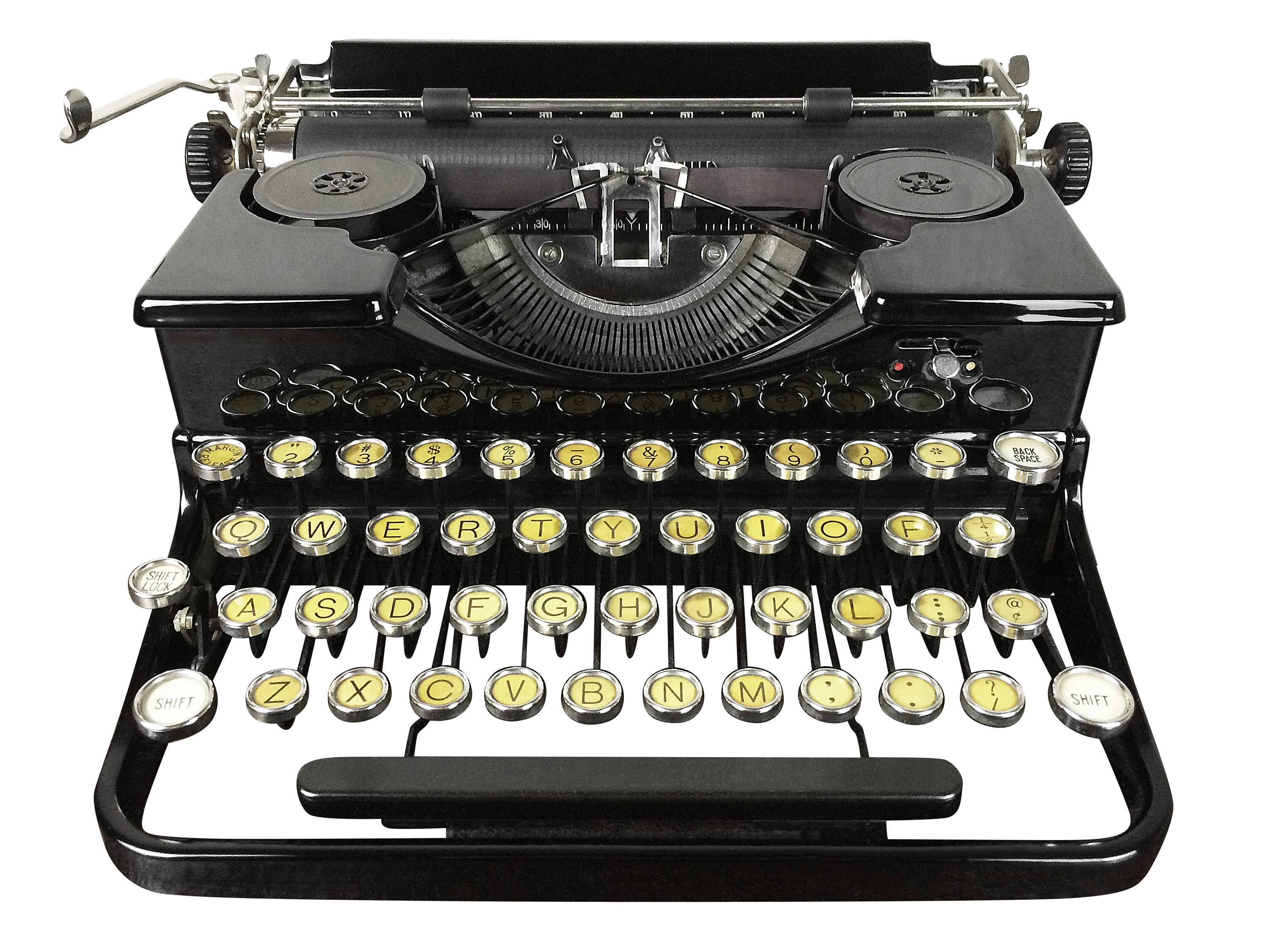 1930s Royal Portable Typewriter Omero Home