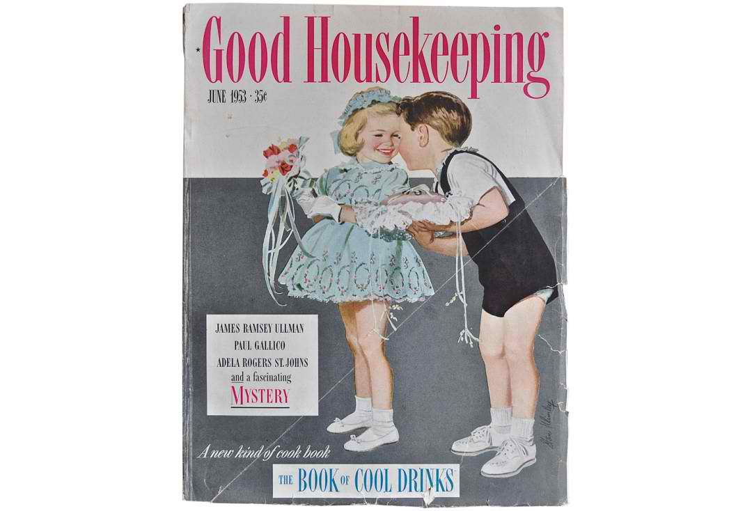 1953 good housekeeping magazine omero home for Good house magazine