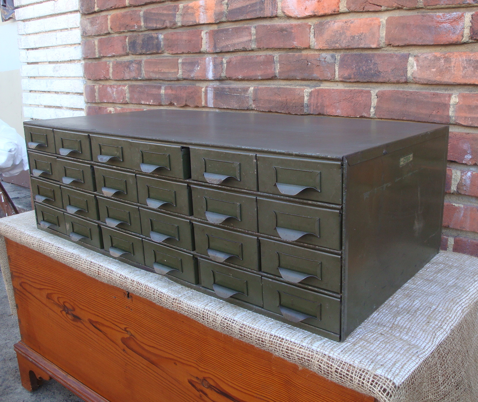 24 Drawer Metal Industrial Steel Storage File Cabinet