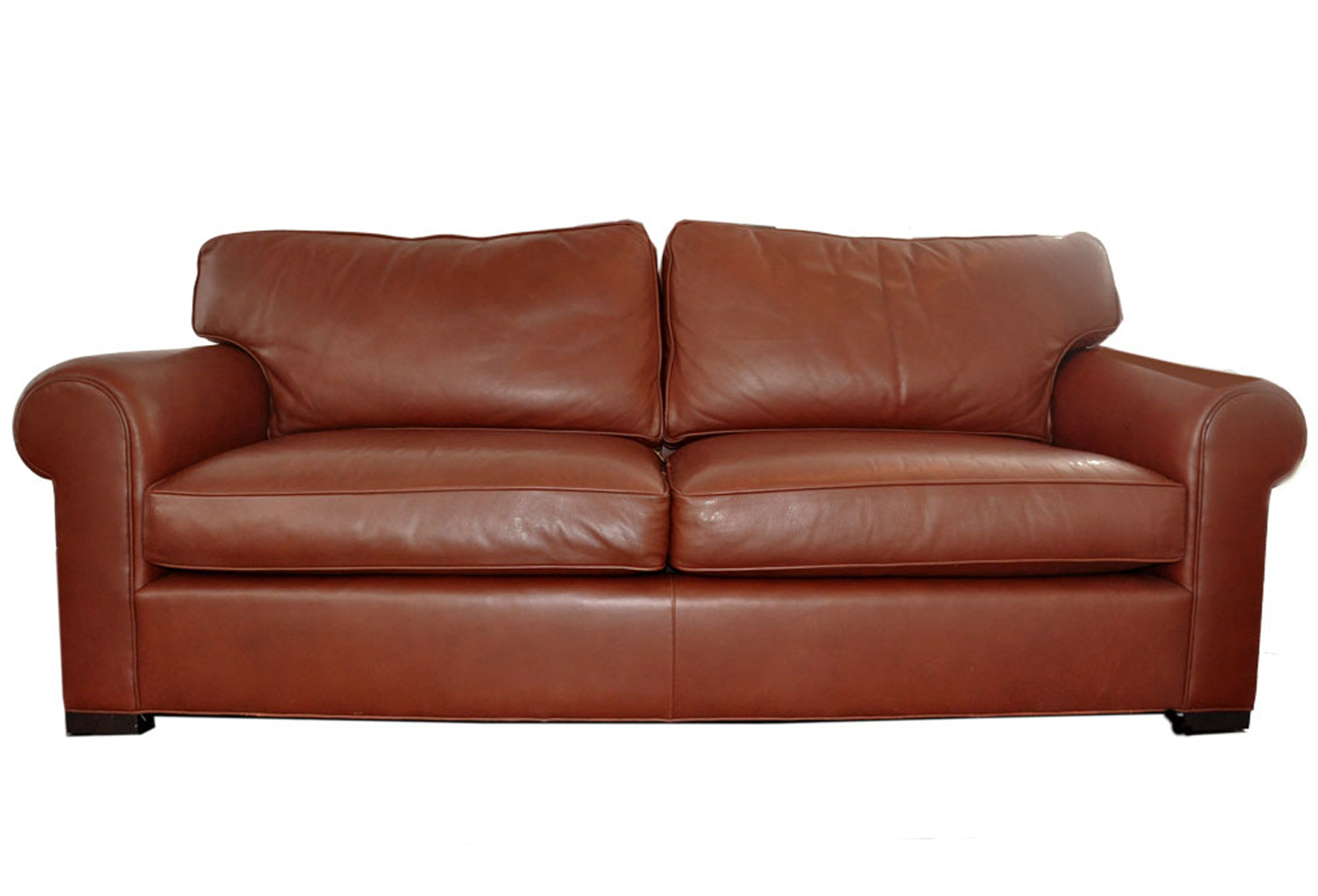 Genial 90u0027s Coach Leather Couch Designed By Barbara Barry