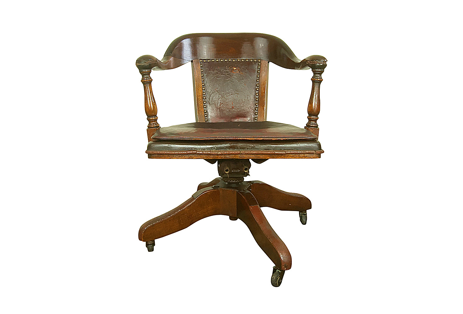 Bankers chair leather -