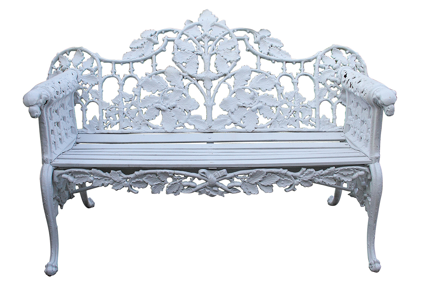 Antique cast iron garden bench omero home - Antique Solid Oak Dining Table Images Table French White