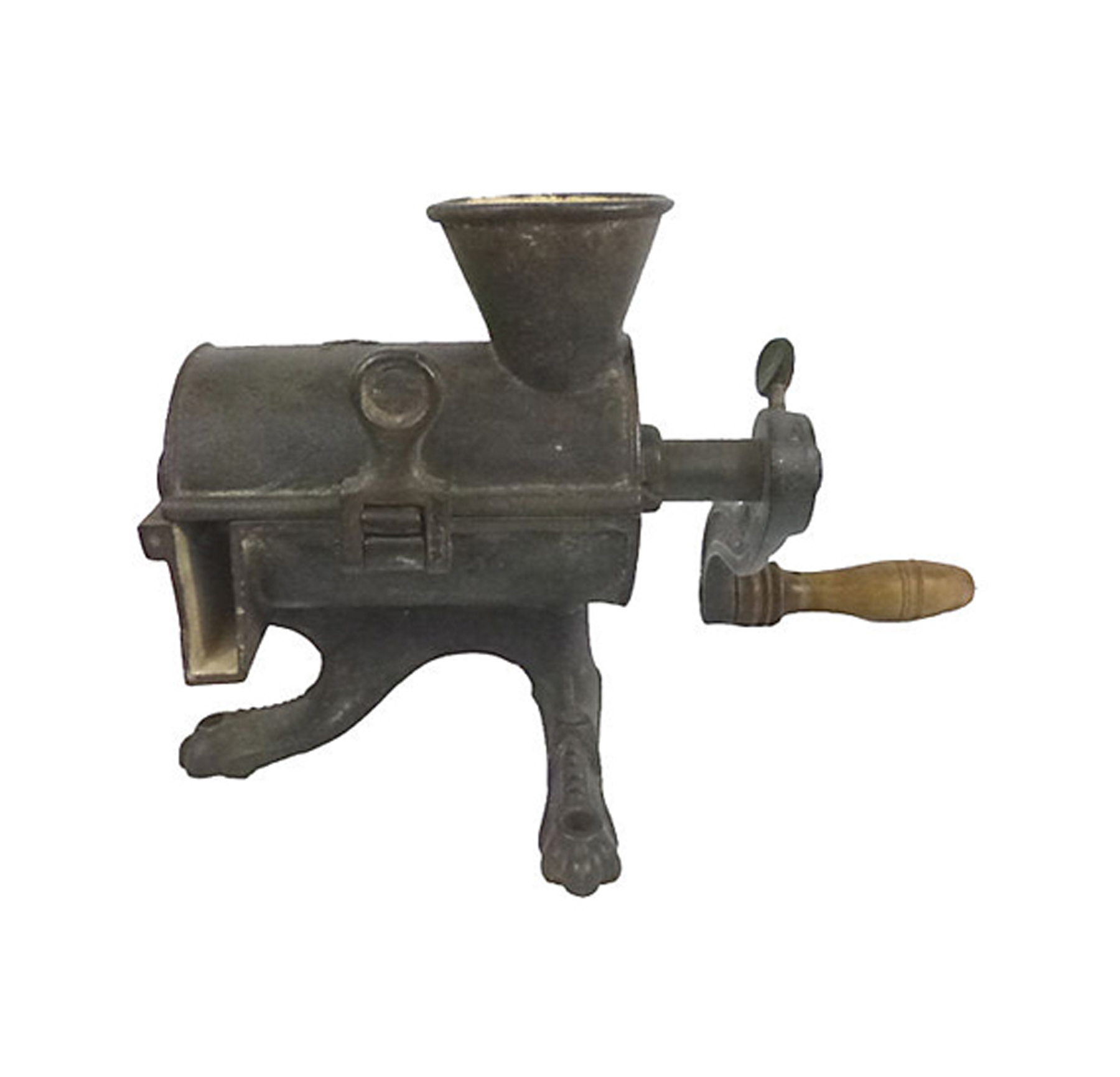 Antique Cast Iron ~ Antique cast iron meat grinder omero home