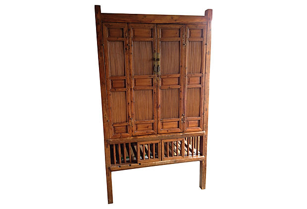 asian bamboo wood cabinet jpg 1200x900