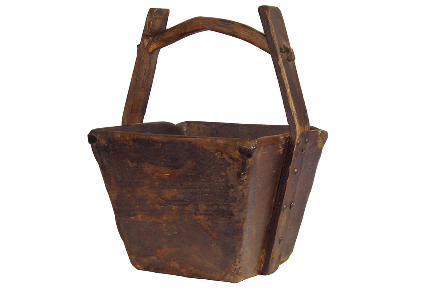 Antique Chinese Rice Bucket II | Omero Home