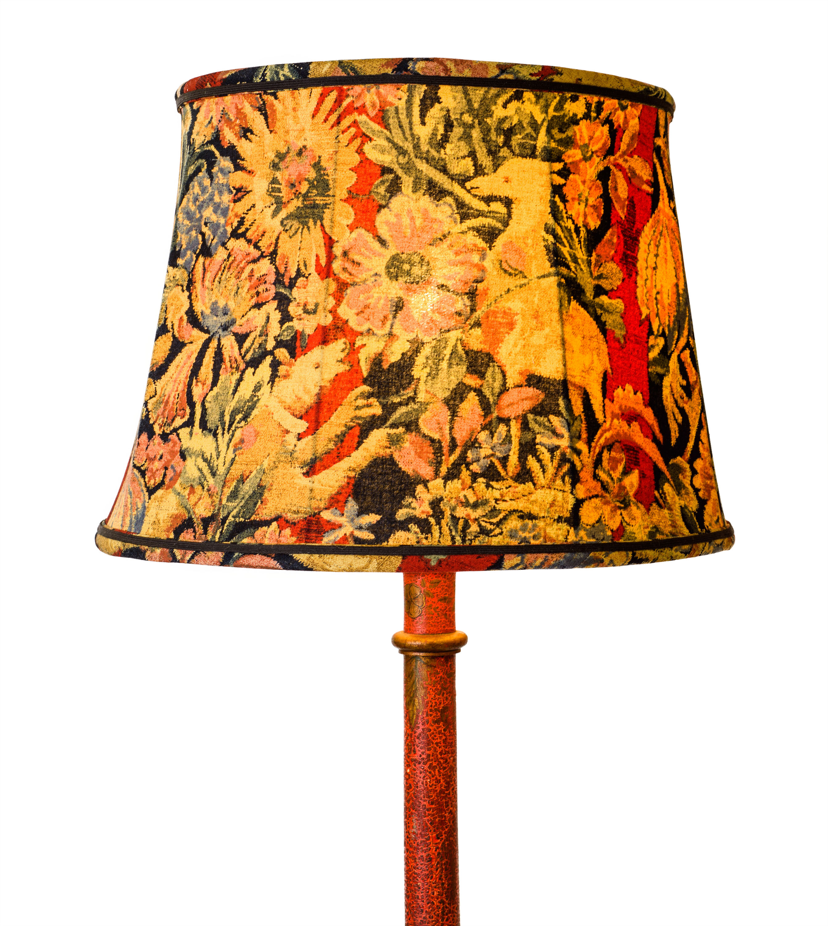 Antique Chinoiserie Floor Lamp