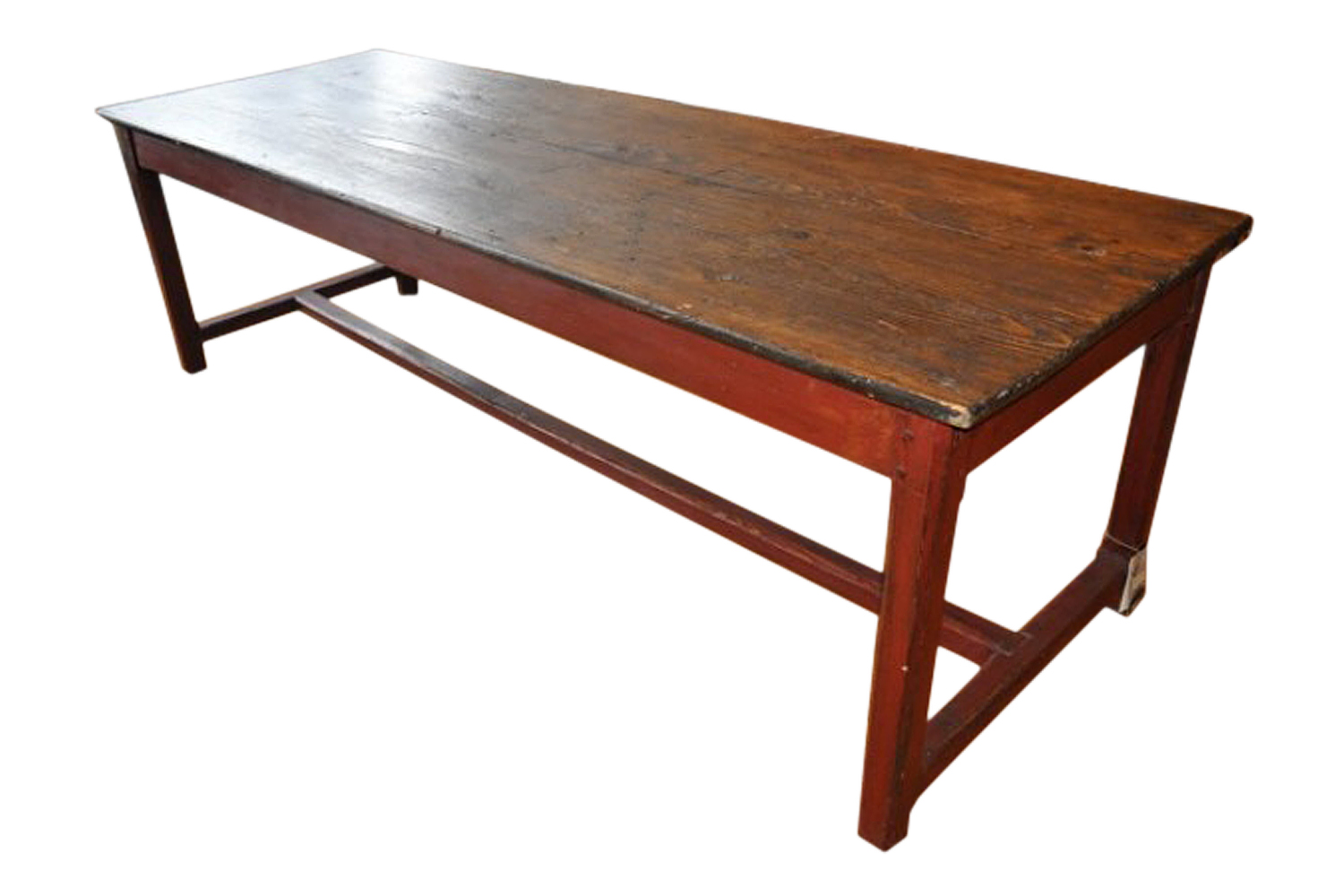 Antique Rustic Farm Table Italy Omero Home