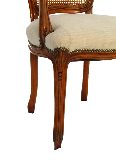 19 french cane back dining chairs thomasville mid century s