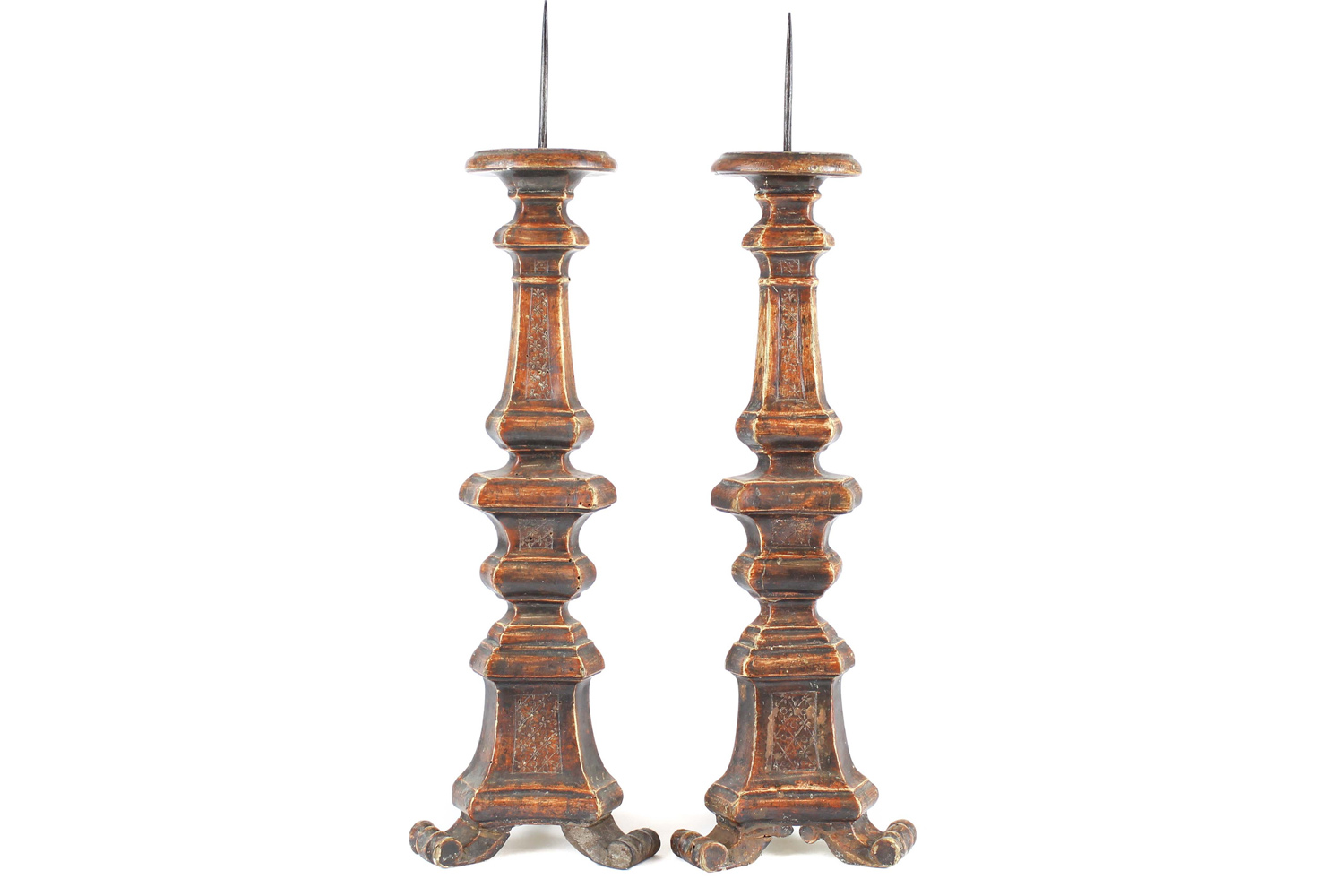 Antique italian altar candlesticks omero home antique italian altar candlesticks reviewsmspy