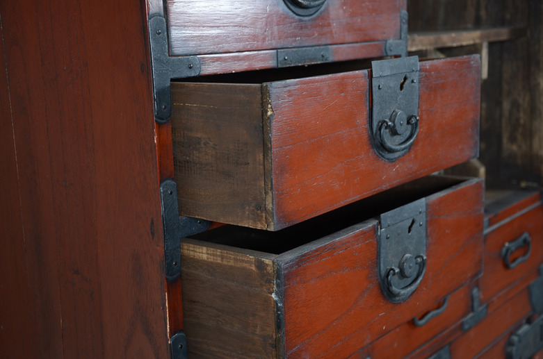 Antique Japanese Tansu Cabinet | Omero Home