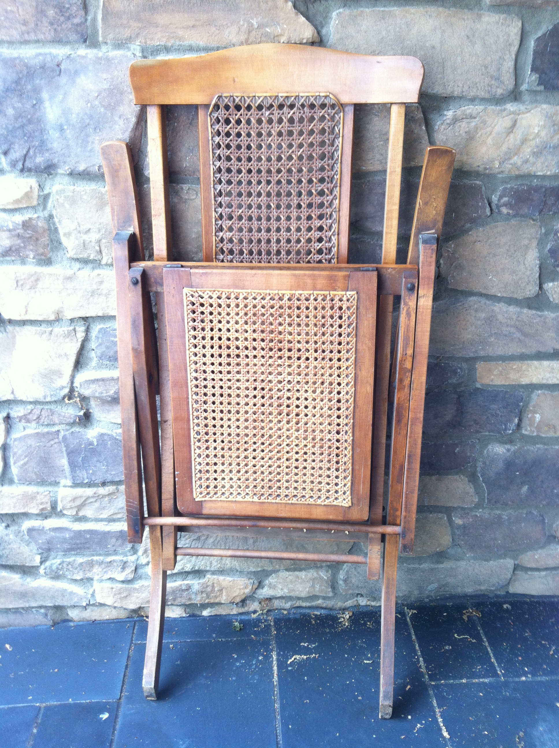 Antique Steamer Deck Chair Omero Home