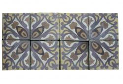 "100 sq.ft. 8"" French Decorative Tiles"