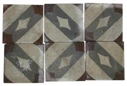 100 sq.ft. French Decorative Tiles