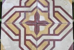 "175 sq.ft. French Decorative Tiles 8"" Square"
