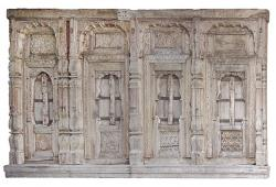18th Century Carved Architectural Wall Frontage