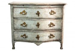 18th Century Swedish Baroque Commode