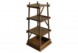 1920s Arts & Crafts Ozark Camp Etagere