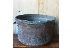 19th Century Antique Copper Bucket