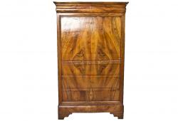 19th century French Walnut Secretary