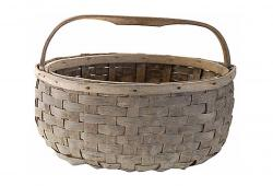 19th Century Hickory Woven Basket