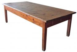19thC Beautiful Rustic Farm Table for 10 from Siena Italy