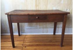 20th Century Small Antique Farmhouse Desk