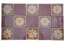 55 sq.ft. French Decorative Tiles