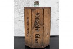 Antique Bottle in Original Shipping Crate