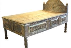 Antique Carved Daybed