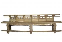 Antique Chinese Theater Bench