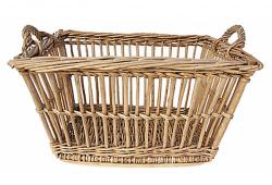 Antique French Baguette Basket