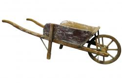 Antique French Child's Wheelbarrow