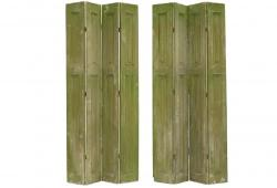 Antique French Green Shutters