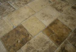 Antique French Limestone Flooring - Blonde Barr