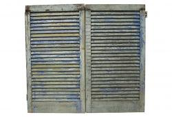 Antique French Wood Shutters