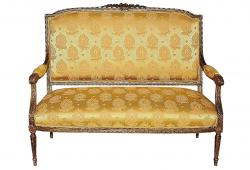 Antique Gilt French Settee