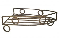 Antique Iron Rack