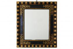 Antique Italian Painted Mirror