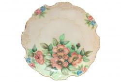 Antique Porcelain Decorative Wall Plate