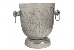 Mid-Century Grape Motif Wine or Ice Bucket