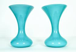 Mid-Century Modern Murano Glass Decorative Pieces or Vases