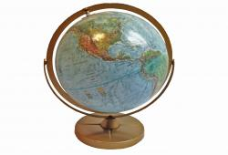 Midcentury World Globe