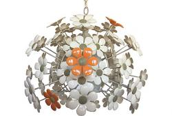 Modern Daisies Pendant Light