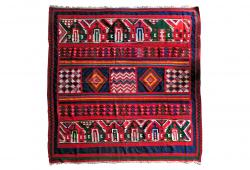Multicolored Tribal Rug