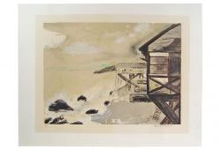 Ocean Front By Sarah Churchill Lithograph