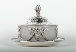 Old English Sheffield Silver Plated Table Display Piece
