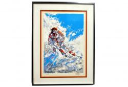 Olympic Skier by Mark King